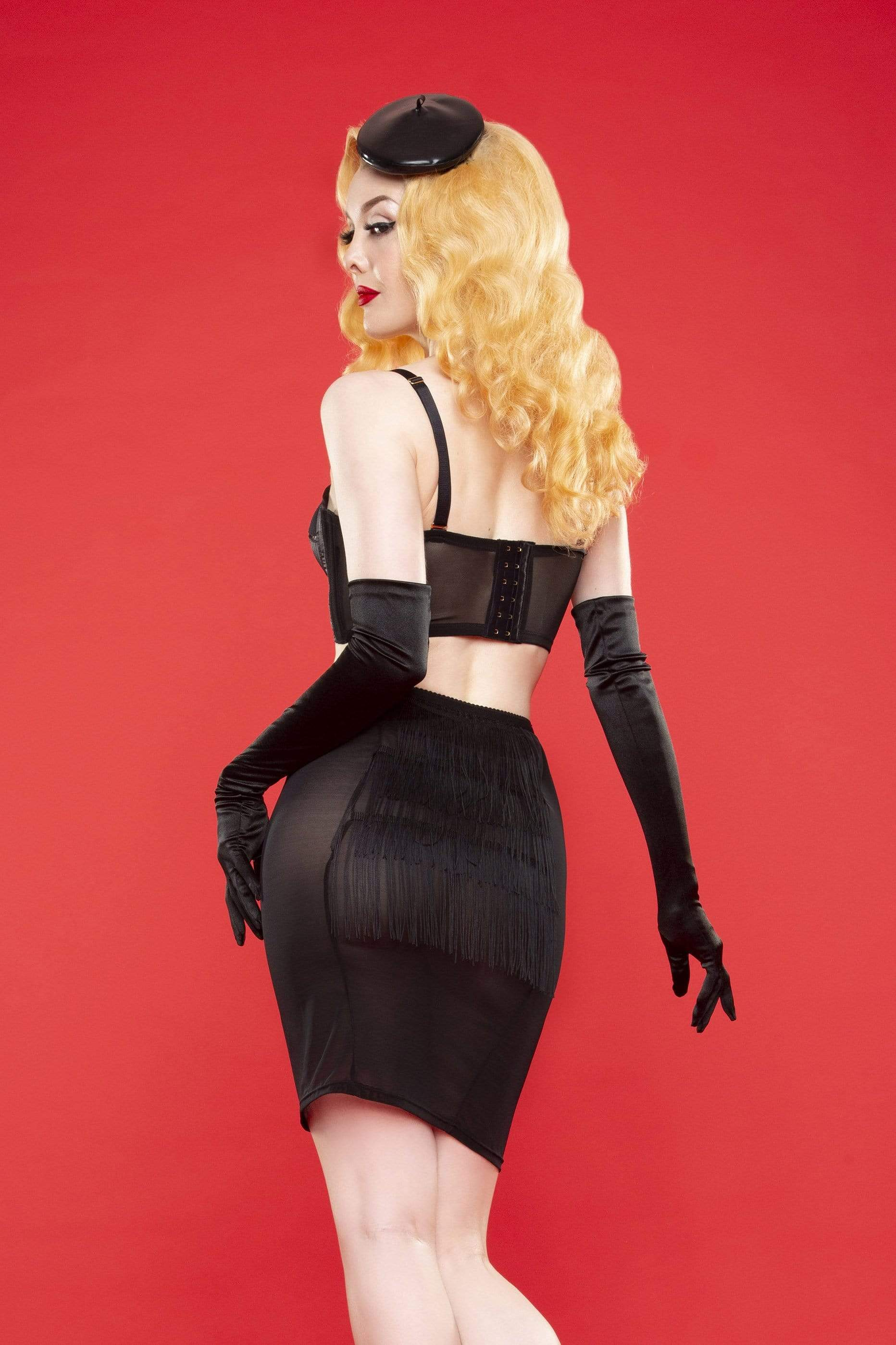 Bettie Page Tassle Lingerie Skirt  XS-XL