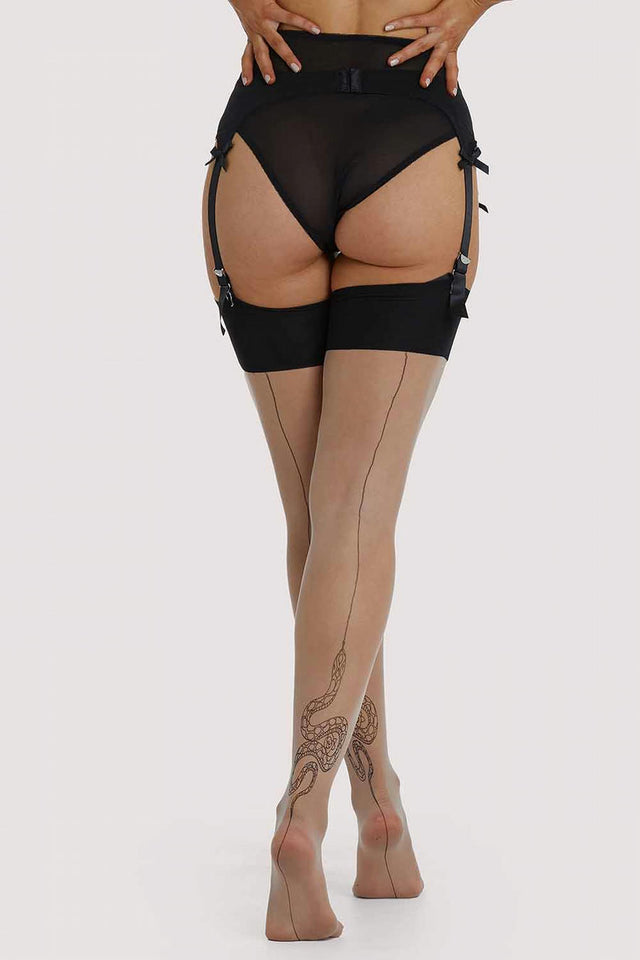 Playful Promises Snake Stockings XS-4XL