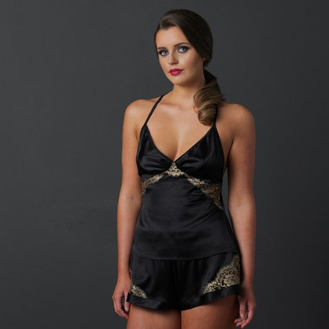 Emma Harris Cleo Midnight Lace Camisole