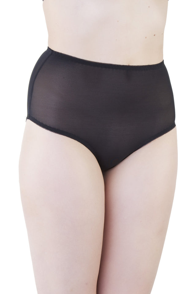 Bettie Page Mesh Classic Brief XS-2XL