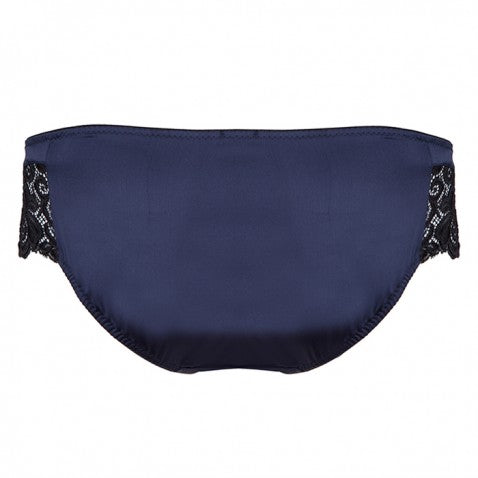 Emma Harris Signature Navy Lace Skirted Brief