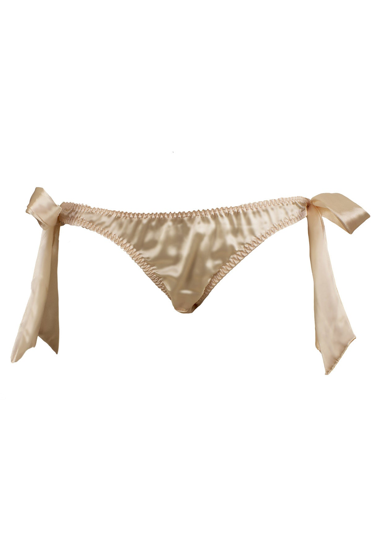 Peach Tie-Side Knicker