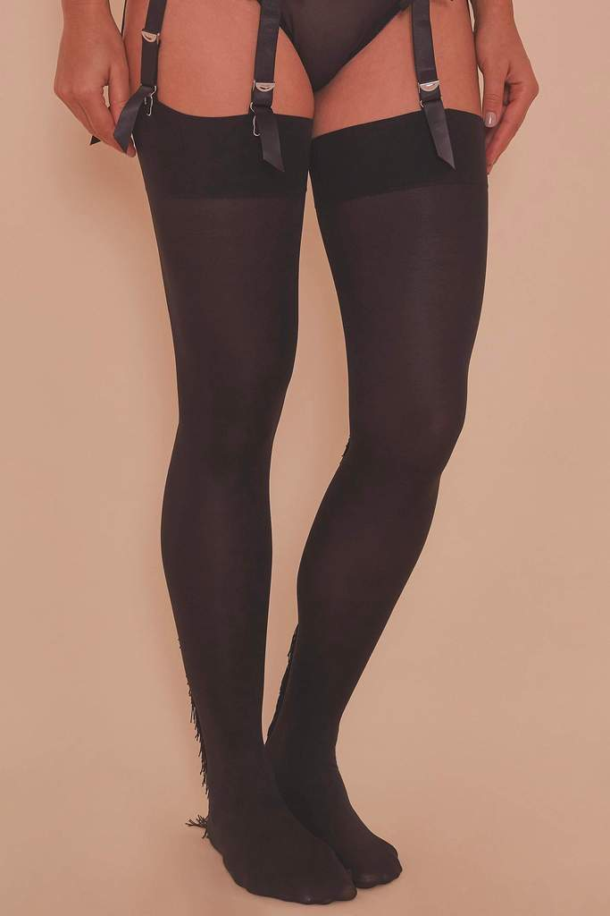 Playful Promises Fringe Stockings XS-4XL