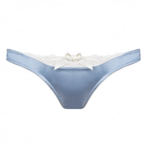 Emma Harris Signature Sky Blue Lace Skimpy Brief
