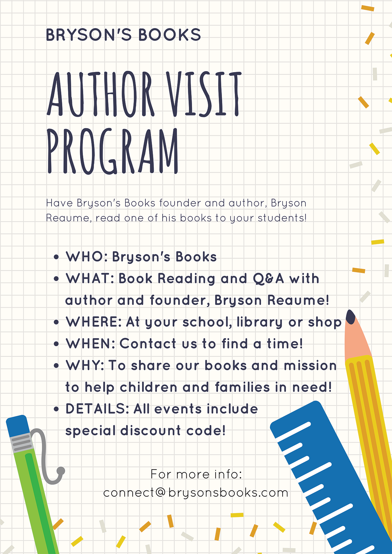 Author Visit Program