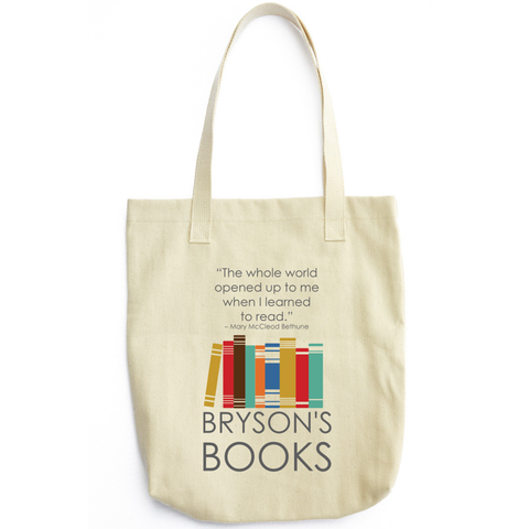 Bryson's Books Tote Bag