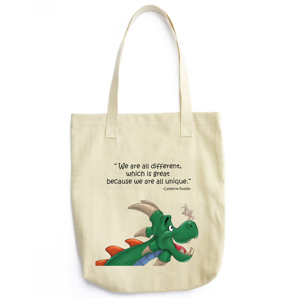 Dragons and Bunnies Tote Bag