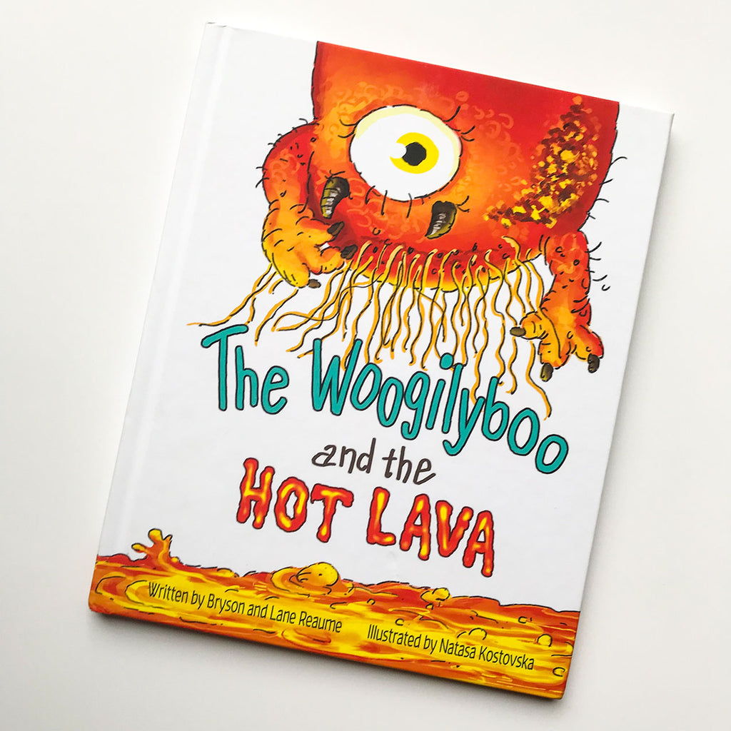 Available Now - The Woogilyboo and the Hot Lava Book!
