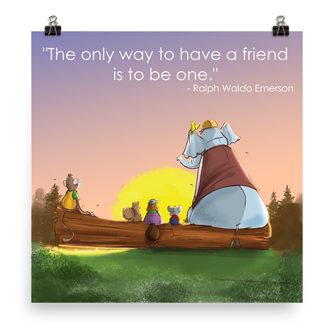 The Mouse Who Lost His House Poster Print