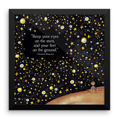 A True Story by Zack Framed Print
