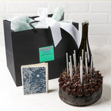 chocolate cake Cremorne Street Bakers birthday box. home delivery free melbourne