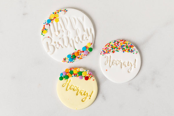 Cake topper, cake plaque, melbourne