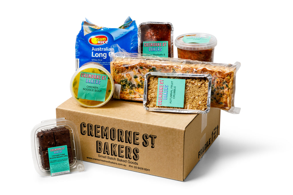 Cremorne Street Bakers Hampers Food Boxes for Delivery or Pick upCremorne Street Bakers, Isolation Boxes, Hampers and Gifts Melbourne