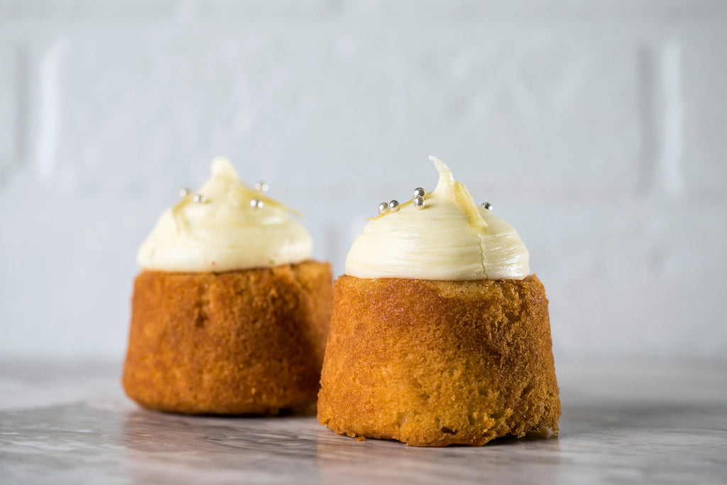 Lemon Lime Syrup Cake