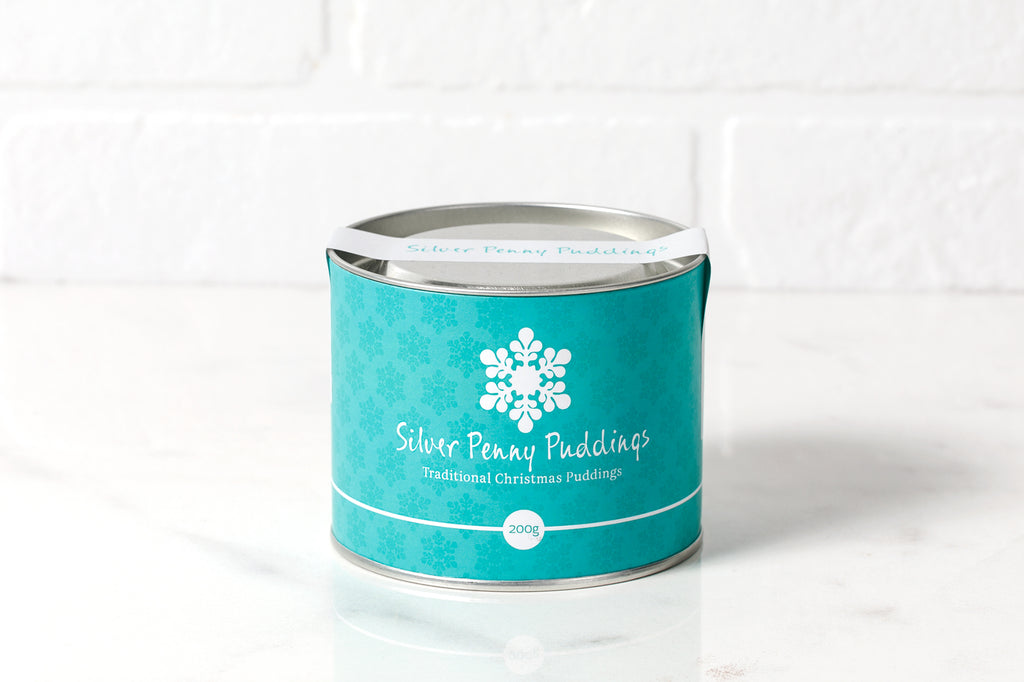 Silver Penny Christmas Puddings 200gms