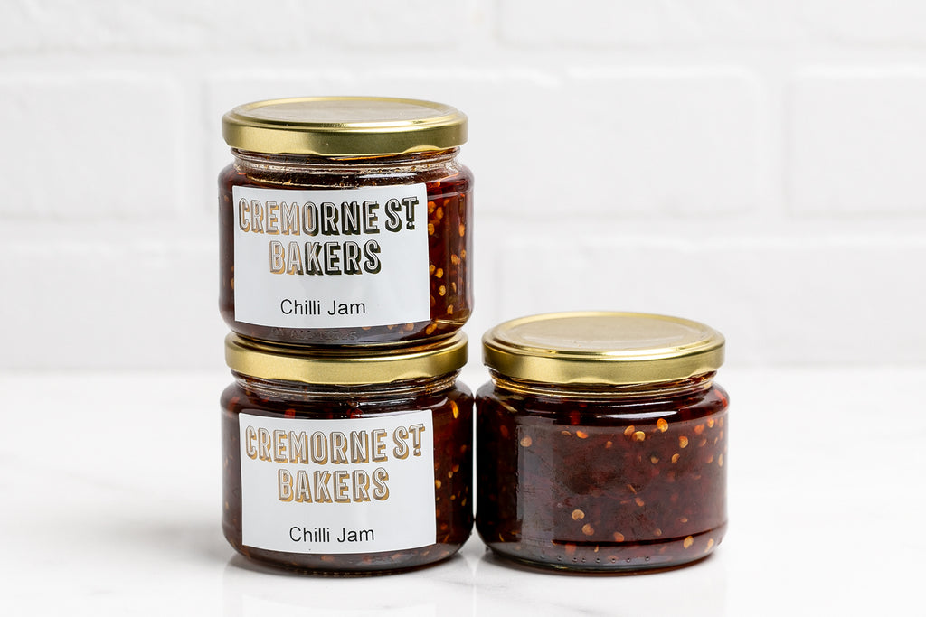Cremorne Street Bakers, Isolation Boxes, Hampers and Gifts Melbourne, Home delivery Chilli Jam