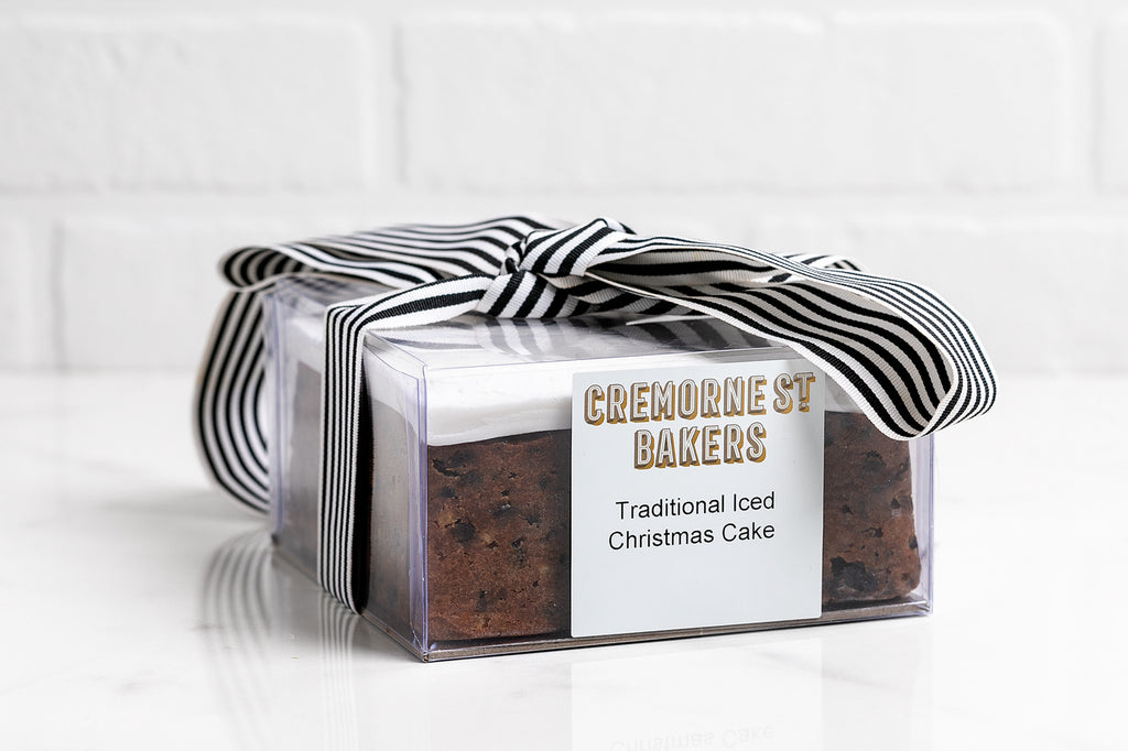 Christmas Cake 6 Inch Square (1.6kg)