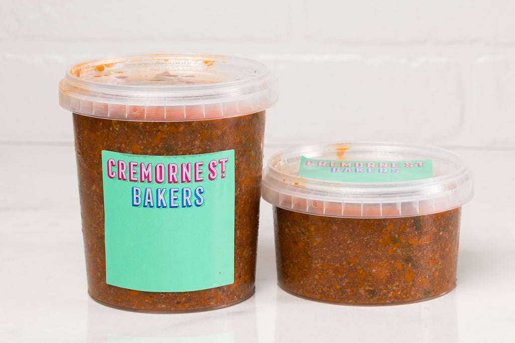 Cremorne Street Bakers, Isolation Boxes, Hampers and Gifts Melbourne, Home delivery chilli con carne