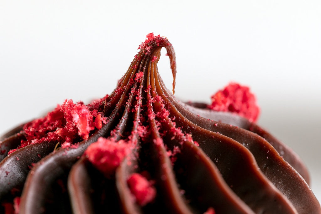 Raspberry Chocolate Mud Cake with Chocolate Ganache