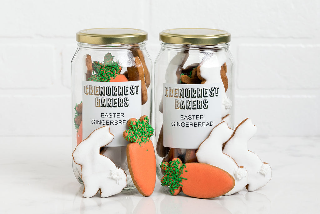 Easter Gift Jar 'Carrots and Bunnies'