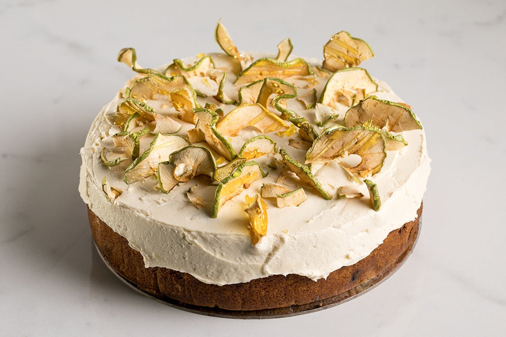 Apple Chai with Maple Frosting (Vegan)