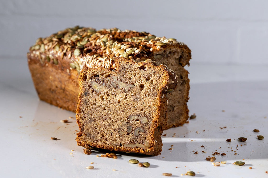 Seeded Banana Walnut Tahini Loaf 1.7 kg