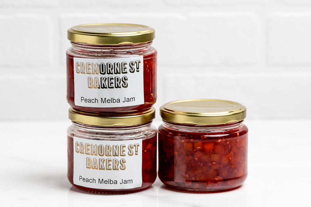 Peach Melba Jam 300ml Jar