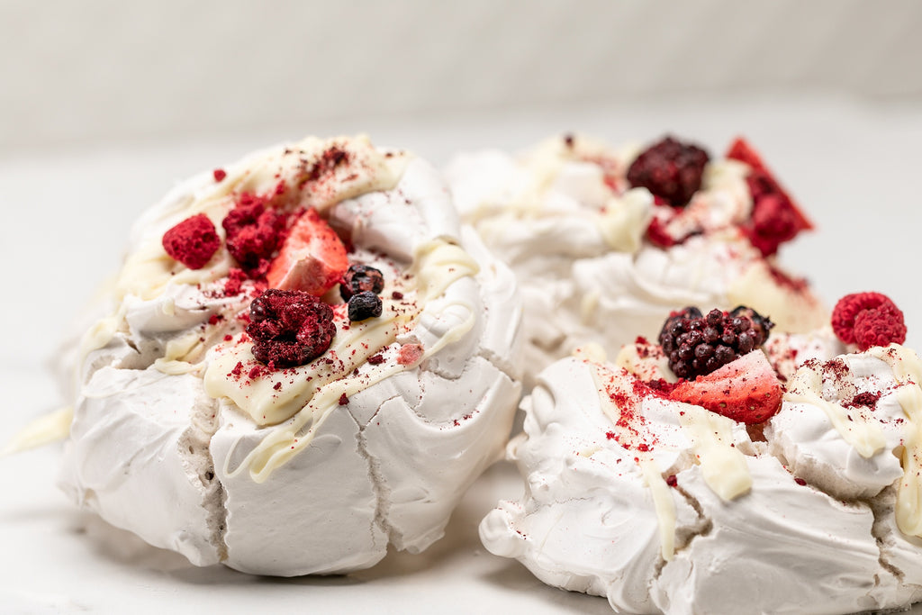 Fruits of the Forest Meringues