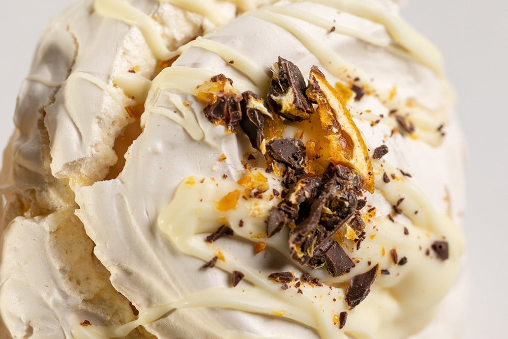 Cinnamon Chocolate & Orange Meringue (GF)