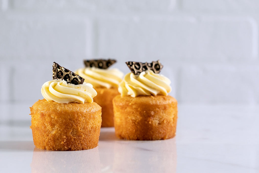 Honey with Orange Buttercream