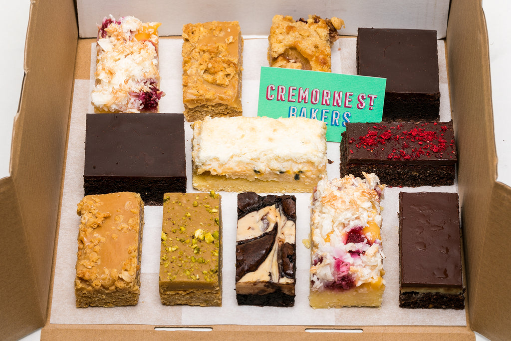 Mixed Sweet Treat Box of 12 Slices