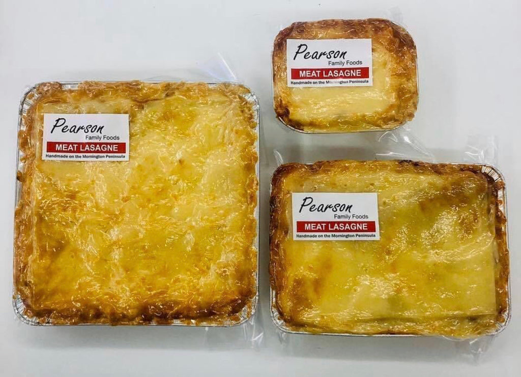 Cremorne Street Bakers - Take home meals with free Delivery. Pearson Food Beef Lasagne