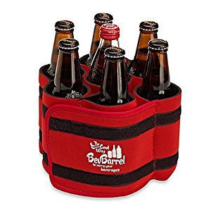 Beverage Barrels - Red-Coolers-BevBarrel-Garibaldi General