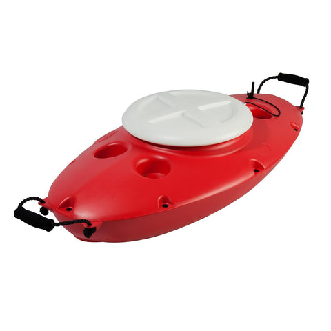 CreekKooler 30 Quart Floating Cooler - Cardinal Red-Coolers-CreekKooler-Garibaldi General