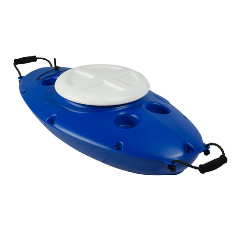 CreekKooler 30 Quart Floating Cooler - Royal Blue-Coolers-CreekKooler-Garibaldi General