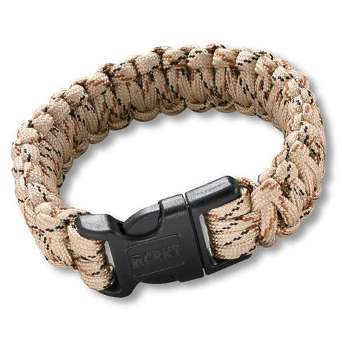 CRKT Para-Saw Survival Bracelet - Large Tan-Bungees, Paracords, Ropes & Ties-Columbia River Knife & Tool-Garibaldi General