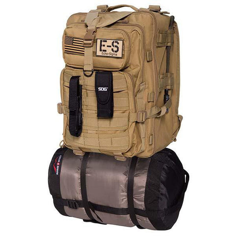 Echo-Sigma Emergency Bug Out Bag Coyote-Survival & First Aid Kits-Echo-Sigma Emergency Systems-Garibaldi General