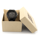 Garibaldi General Black Tusk Dark Bamboo Watch-Watches-Garibaldi General-Garibaldi General