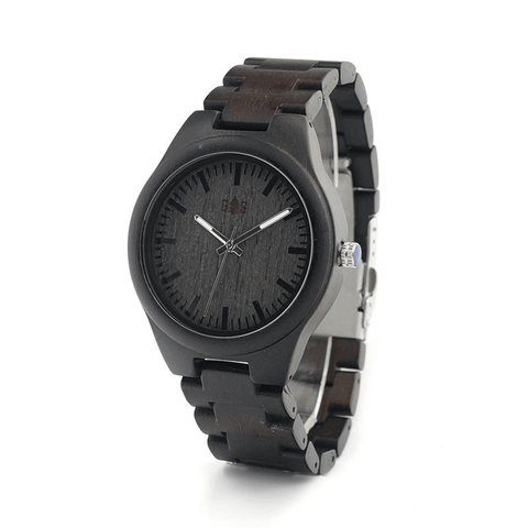 Garibaldi General Black Tusk Dark Bamboo Watch-Watches-Garibaldi General-Dark Bamboo-Garibaldi General