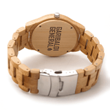 Garibaldi General Whiterock Bamboo Watch-Watches-Garibaldi General-Garibaldi General