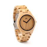 Garibaldi General Whiterock Bamboo Watch-Watches-Garibaldi General-Bamboo-Garibaldi General