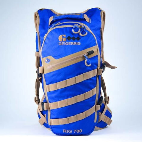 Geigerrig Rig 700 Hydration System 70 oz. Blue-Tan-Hydration Packs-Geigerrig-Garibaldi General