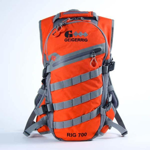 Geigerrig Rig 700 Hydration System 70 oz. Orange-Gunmetal-Hydration Packs-Geigerrig-Garibaldi General