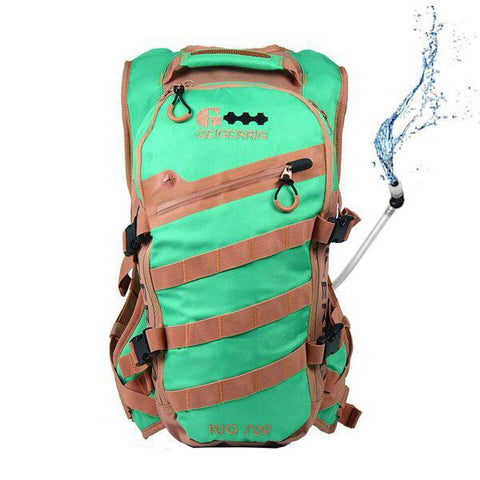 Geigerrig Rig 700M Hydration System Spearmint Tan 70 oz.-Hydration Packs-Geigerrig-Garibaldi General