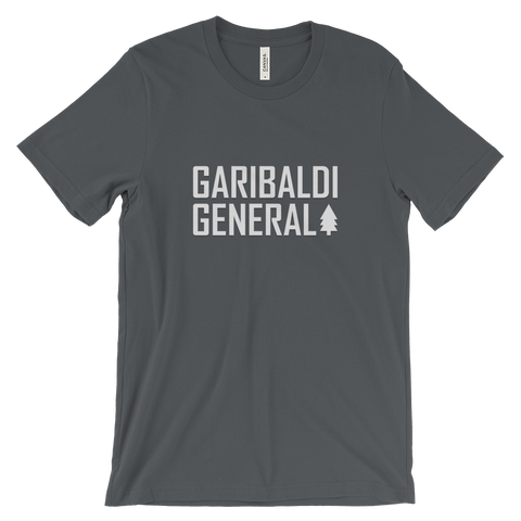 Men's Garibaldi General Tree-Shirt-Shirts-Garibaldi General-Asphalt-S-Garibaldi General