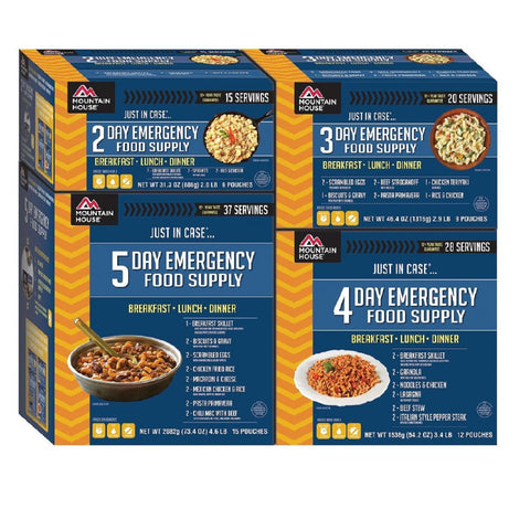 Mountain House Emergency 14-Day Supply For One Person-Food-Mountain House-Garibaldi General
