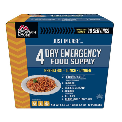 Mountain House Emergency 4-Day Supply For One Person-Food-Mountain House-Garibaldi General
