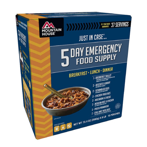 Mountain House Emergency 5-Day Supply For One Person-Food-Mountain House-Garibaldi General