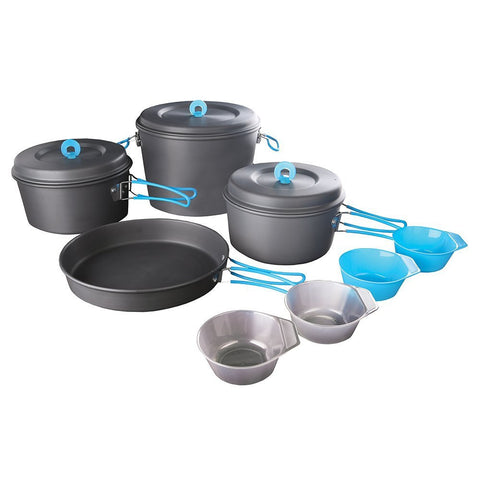 Stansport Family Hard-Anodized Aluminum Cook Set-Cookware-Stansport-Garibaldi General