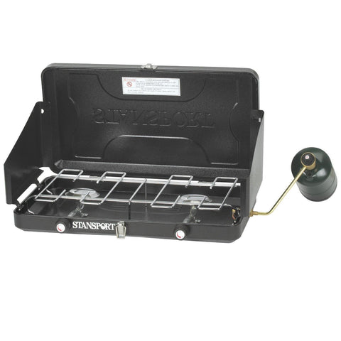 Stansport Two-Burner Regulated Propane stove-Stoves-Stansport-Garibaldi General